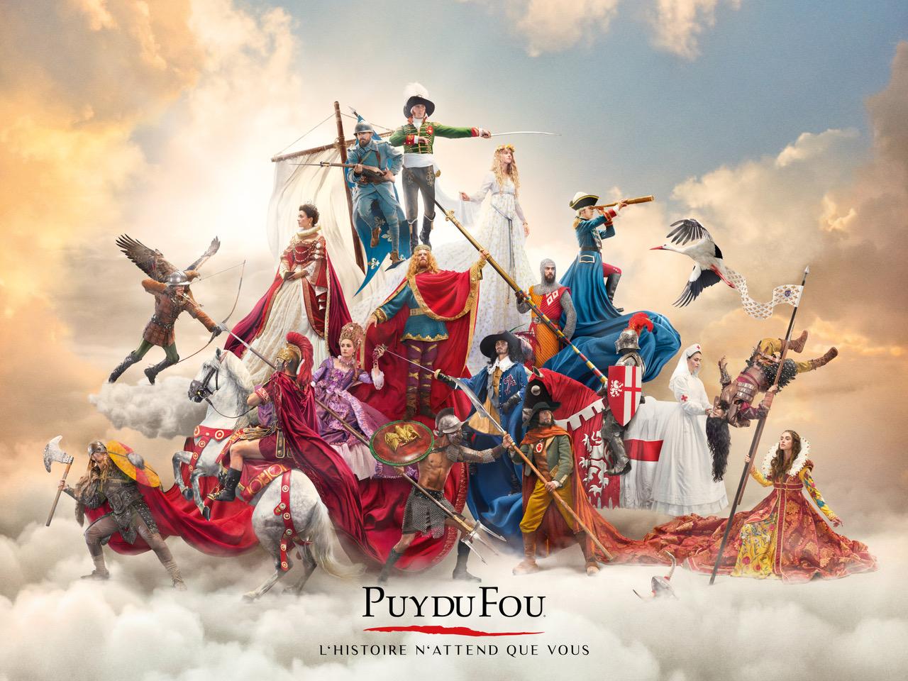 Le Puy du Fou pour une expérience inoubliable.