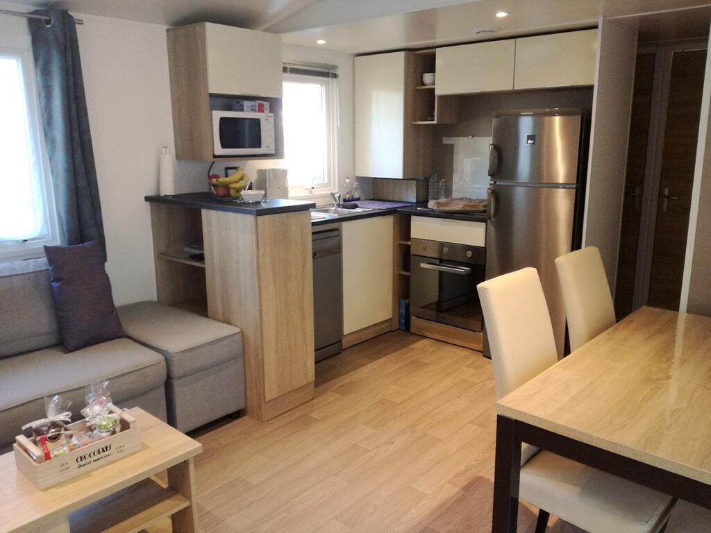 Location à St Jean de Monts - Mer et Soleil - Mobil-home 3 chambres Siblu**** Bois Dormant
