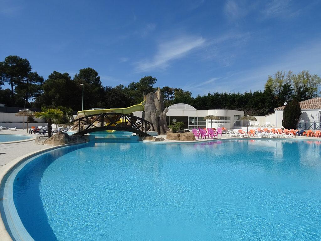 Saint Jean de Monts - Mer et Soleil - camping La Yole**** avec piscines chauffées et jaccuzzi - à 1800m des plages de Saint Jean de Monts