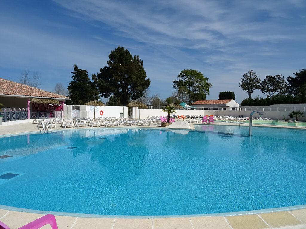 camping à St Jean de Monts La Yole**** - Mer et Soleil - Mobil-home 2 chambres accès piscines inclus